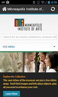Screenshot of Minneapolis Institute of Arts
