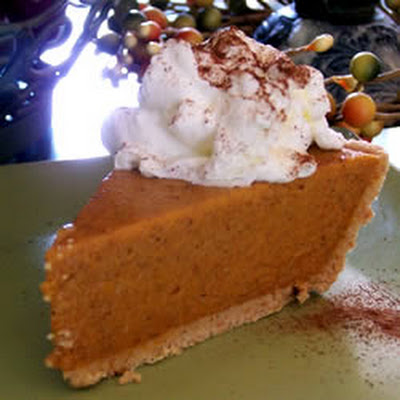 No Bake Pumpkin Pie I