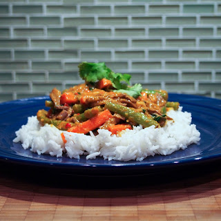Thai Red Curry (using Leftovers)