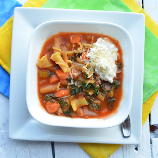 Lasagna Vegetable Soup