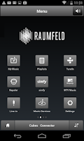 Screenshot of Raumfeld Controller