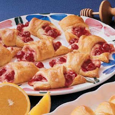 Cherry Cream Crescents