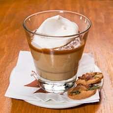 Butterscotch Budino with Caramel Sauce and Sea Salt