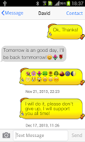 Screenshot of Messaging+ 7