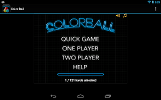Screenshot of Color Ball (Full)