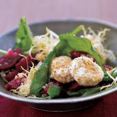 Arugula, Beet, and Goat-Cheese Salad