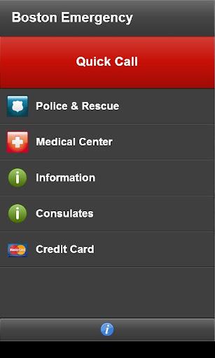 【免費生活App】Boston Emergency-APP點子