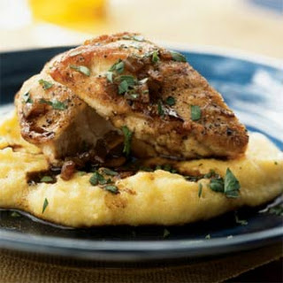 Sautéed Chicken Breasts with Balsamic Vinegar Pan Sauce