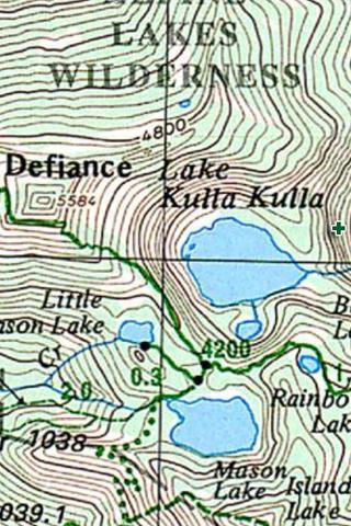 Walupt Lake WA - 335