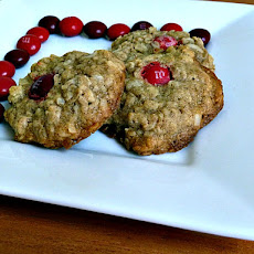 Oatmeal Coconut Cherry MM Cookies