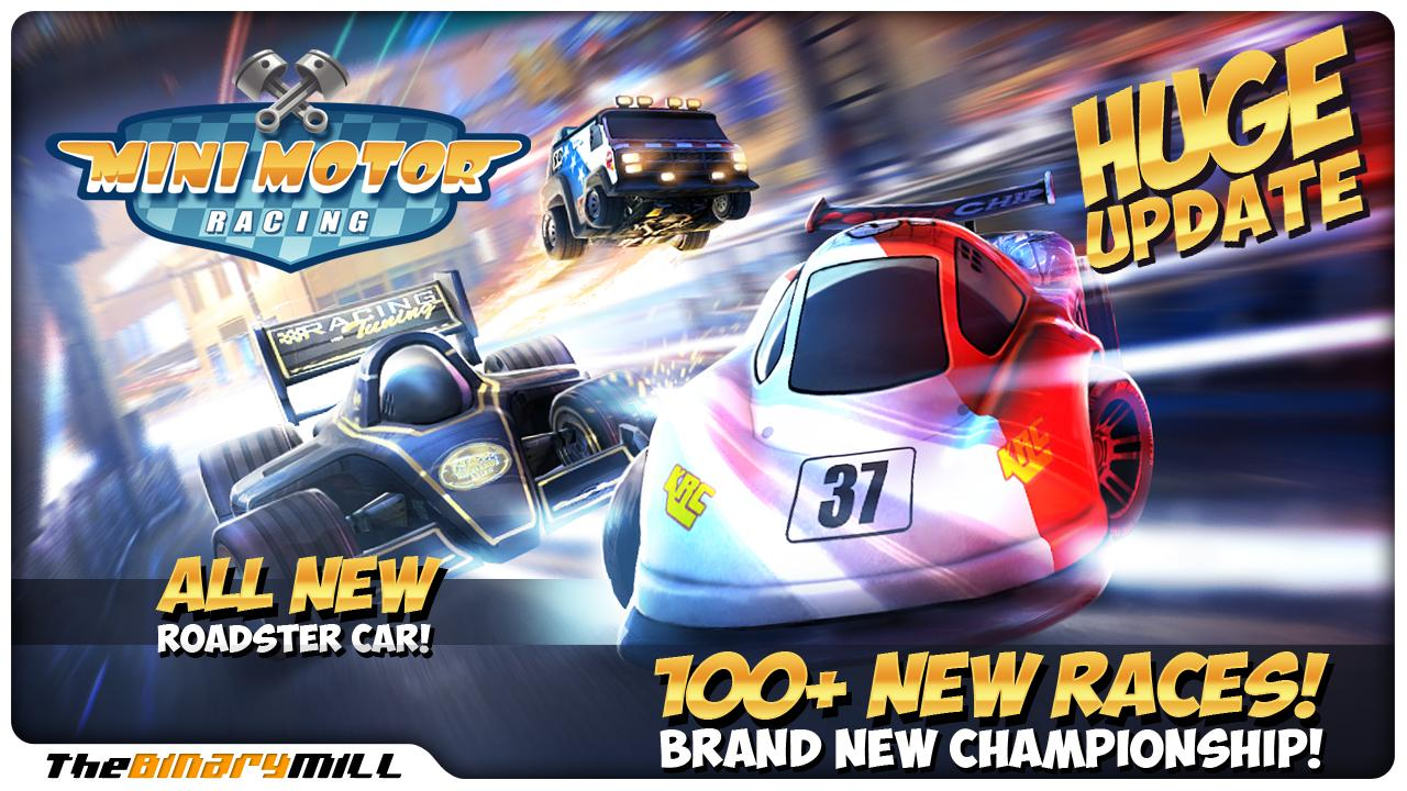 Mini Motor Racing Screenshot 0