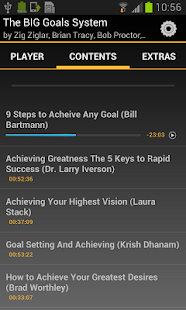 The BIG Goals System - screenshot
