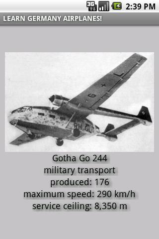 German planes in WW2