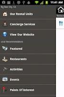 Screenshot of Big Bear Vacations