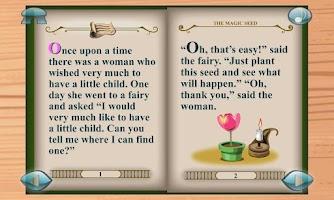 Screenshot of Thumbelina:3D Popup Book