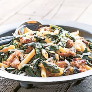 Penne with Chard and Sausage