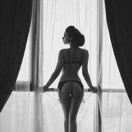 Mery by Kalin Kostov - Nudes & Boudoir Boudoir ( nude, woman, boudoir, akt, art, women )