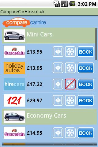 【免費旅遊App】CompareCarHire.co.uk-APP點子