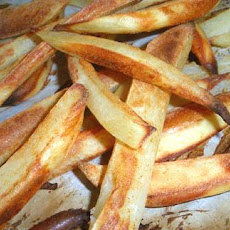 Easy Crispy Oven Fries (Low Fat, Low Cal)