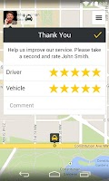 Screenshot of mytaxi – The Taxi App