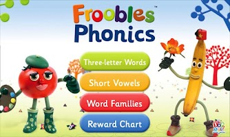 Screenshot of Froobles Phonics