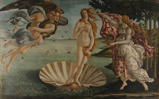 Botticelli Sandro, Nascita di Venere