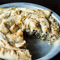 Balkan Lamb and Leek Pie