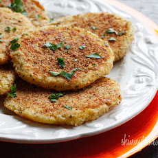 Leftover Parmesan Mashed Potato Patties