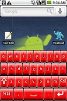 Screenshot of Better Keyboard Skin - Red