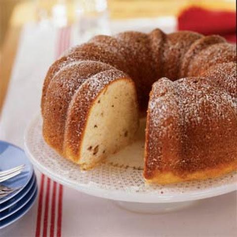 Ginger-Plum Sour Cream Cake Recipe | Yummly