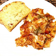Baked Penne With Sausage and Spinach (Oven or Crock-Pot)
