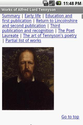 【免費書籍App】Works of Alfred Lord Tennyson-APP點子
