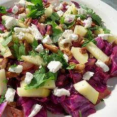 Warm Red Cabbage Salad