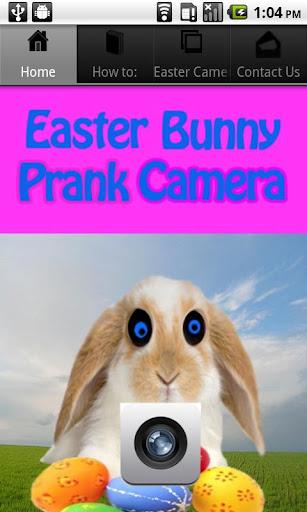 Easter Bunny Prank Camera