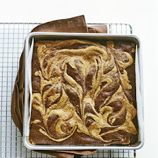 Peanut-Butter Swirl Brownies