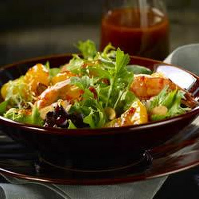 Mixed Greens with Mandarins and Thai Lime Vinaigrette