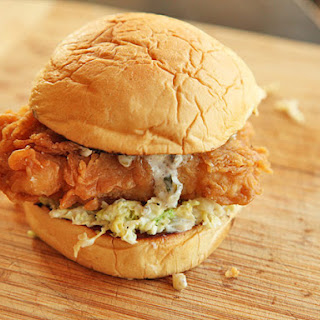 Fried Fish Sandwiches With Creamy Slaw and Tartar Sauce