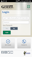Screenshot of The General Insurance