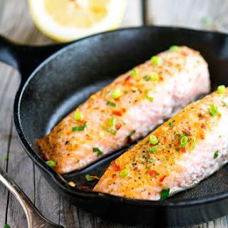 Salmon Ginger Garlic Lemon Baked Recipes