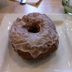Apple donut