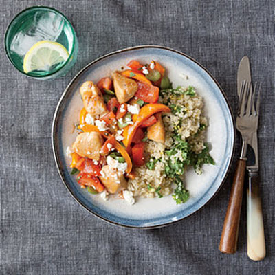 Chicken and Bell Pepper Sauté