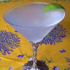Pear and Lime Martini