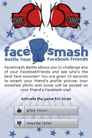 Screenshot of FaceSmash