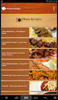 Screenshot of Persian Recipes