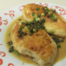 Parmesan-Crusted Chicken With Capers