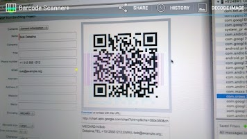 Screenshot of Barcode Scanner+ Simple