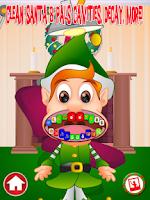 Screenshot of Christmas Dentist Office Santa