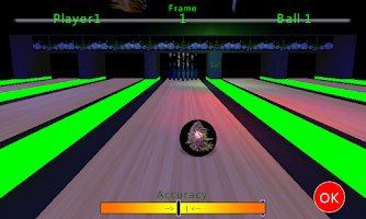 Screenshot of Smokin' Ball Bowling Free