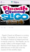 Screenshot of Sligo.ie