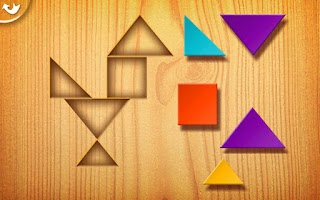 Screenshot of Kids Tangrams Lite
